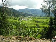 The hills around Kathmandu, just beautiful in colour