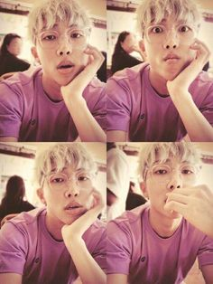 Namjoon's Selfies give me life.