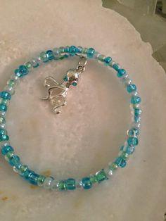 Miami surf beaded wrap bracelet w/ octopus charm by WSJ