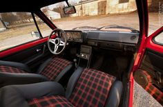 #VW #Golf Mk1 interior #ValleyMotors