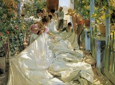 A simply amazing study of light and shadow by Sorolla.