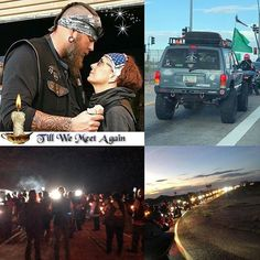 "32f327f55ada GenXBrat on Instagram  ""Over 200 people came out to show support and love  for Opie and Tammy. . Bikers. 4x4 Off Roaders. Diesel Pull Competitors."