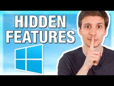 (12) Top 10 Hidden Windows Features (You'll Wish You Knew Sooner) - YouTube