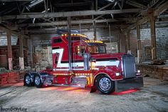 Beautiful | Materia Bros Kenworth W900L as featured in the M… | Flickr