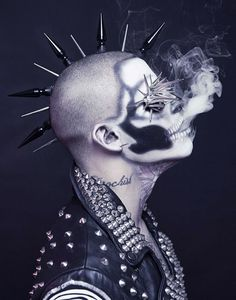 Hell yes! are those dermal spikes on his head?!