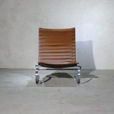Poul Kjaerholm PK20 Brown Leather