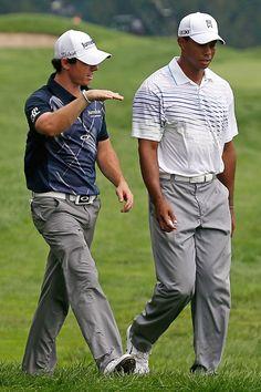 Rory McIlroy vsTiger Woods