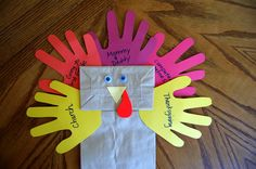 Thanksgiving Puppet Crafts | ... going to first grade, Mommy & Daddy, computer games and Thanksgiving