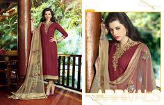 "Bella stiles Presents:-""Mallika Dresses Collections"" Fabric Details:- Pure cotton weaving Fabrics, Cotton Bottom, Chiffon Duppatta with heavy work.  To place #Orders : (#USA):610-616-4565, 610-994-1713; (#India):99-20-434261; E-MAIL:market@bellastiles.com, wholesale@bellastiles.com  #Bellastiles #Dresses #DesignerDresses #Fashion #LadiesWear #EthnicWear #Sale #Discounts #Clothing #LadiesApparel #eCommerce #onlineShopping #FreeShipping #BuyOnline"