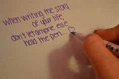 I only repinned this for the handwriting (;