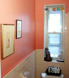 Bathroom ideas on pinterest coral bathroom bath towel for Coral reef bathroom decor