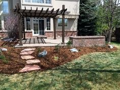 Outdoor Living Space Landscape Services, Outdoor Living, Living Spaces, Pergola, Outdoor Structures, Snow, Outdoor Life, Outdoor Camping, Country Living