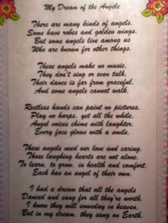 A poem from an unknown author about individuals with Angelman Syndrome