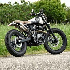 Suzuki dr650 OLD SCHOOL   #anchormotorcycles #3 #madewithlove