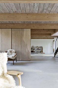 Artwork For Home Decoration Cottage Interiors, Wood Interiors, Interior Architecture, Interior Design, Diy Design, Tadelakt, Post And Beam, Minimalist Home, Living Spaces