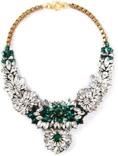 SHOUROUK statement jewel necklace