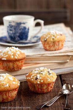 muffin yogurt e mirtilli   <3