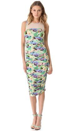 Easter Dress Catherine Malandrino Ruched Tank Dress