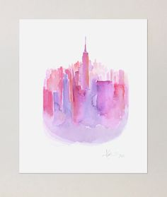 NYC Poster by Katie Rodgers | Paperfashion