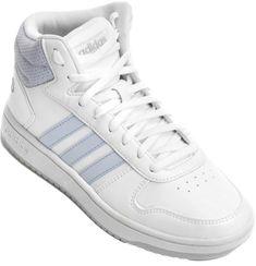 c73e77d7e9 Das quadras de basquete para seus pés. O Tênis Adidas VS Hoops Mid Cano Alto