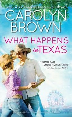What Happens in Texas by Carolyn Brown  Light-hearted and fun, What Happens in Texas is colorful tale of 4 women, ranch life and the ruckus that ensures.  http://tometender.blogspot.com/2016/06/what-happens-in-texas-by-carolyn-brown_9.html
