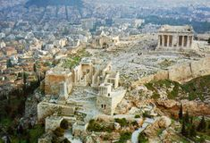 Athens Greece #Athens #Greece was the first place to adopt a form of democracy in which only the rich land owning men in the city could vote not women