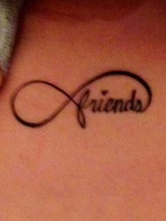 Best friend tattoo. Friends forever