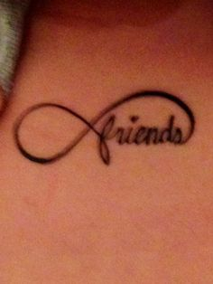 Best friend tattoo. Friends forever