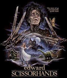 Edward Scissorhands, Movie Posters, Movies, Collection, Instagram, Design, Art, Art Background, Films