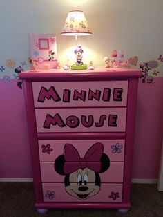 minnie mouse dresser - Google Search