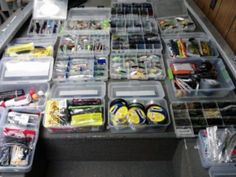 Excellent And Best Boat Organization Ideas To Keep Your Boat Clean Crappie Fishing, Kayak Fishing, Fishing Tips, Fishing Boats, Fishing Tackle, Fishing Photos, Fishing Storage, Boat Storage, Storage Boxes