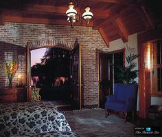 Bedroom - Michael Jacksons Neverland Valley Ranch - 5225 Figueroa Mountain Road, Los Olivos, CA