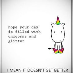 I love #appsocial.. I found this awesome app @Sendtiment Cards with unicorn cards.. If you know me you know my love for unicorns and glitter..