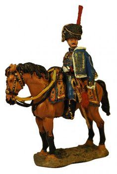 Офицер конной артиллерии Гвардии Консулов, Франция 1803 г. Officer, Horse Artillery, Consular Guard, Del Prado Cavalry №59