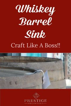 Looking to spend a few hundred bucks (on a whiskey barrel sink) instead of thousands on this new trend? Then join us as we look at how to transform barrels for the perfect, unique addition to your home or business! Farmhouse Lighting, Rustic Lighting, Lighting Ideas, Whiskey Barrel Sink, Whiskey Barrels, Rustic Home Interiors, Personalized Gifts For Men, Cozy Room, The Prestige