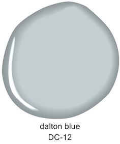 Dalton Blue DC-12, from the @darrylcarter  by Benjamin Moore
