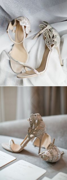 a244f7f9d5cd8 20 Stunning Jeweled Wedding Shoes for All Brides