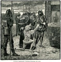 Edmund, Earl of Rutland asks Lord Clifford to spare his life. King Richard III brother.
