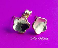 base orecchino fiore, by Mila Bijoux, 1,00 € su misshobby.com