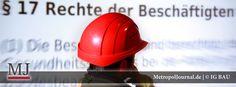 (BT) Rechtsberater der IG BAU Oberfranken im letzten Jahr 1.350 Mal aktiv - http://metropoljournal.de/?p=8790