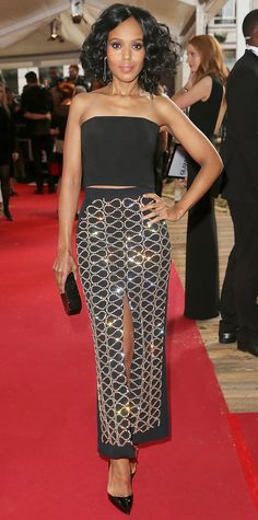 Kerry Washington in David Koma.