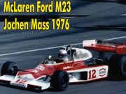 F1 Paper Model - 1976 McLaren M23 Paper Car Free Template Download