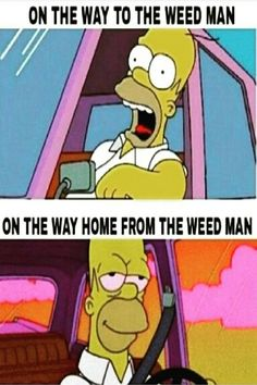 On The Way to The Weed Man Vs. On The Way Home From The Weed Man From RedEyesOnline.net
