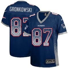 Nike NFL Stitched Elite Drfit Fashion New England Patriots Rob Gronkowski  Stitched Jersey features a zoned 52f37c2c0