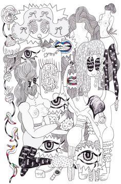 girl × girl +girl + girl