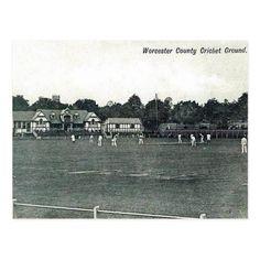 Worcester England, Herefordshire, Vintage Postcards, Vintage Gifts, Adulting, The Past, Gender, Cricket Sport, Retro Ideas