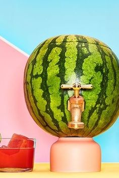 How to make a mojito-filled watermelon keg...because you know you want to!