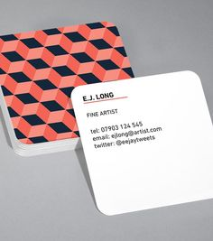 Very cool business cards love the rounded corners and solid card if you want a designer type business cardsit moous browse square business card design templates moo united states reheart Images