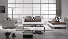 White, Brown and Black Furniture