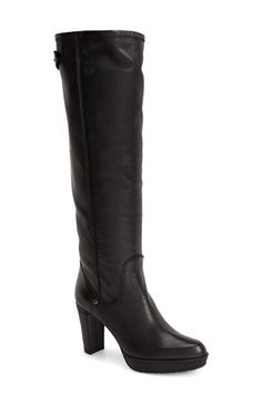 Stuart Weitzman 'Gentry' Almond Toe Platform Boot (Women) available at #Nordstrom
